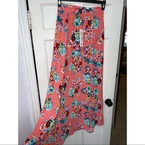 Minkpink floral maxi skirt !